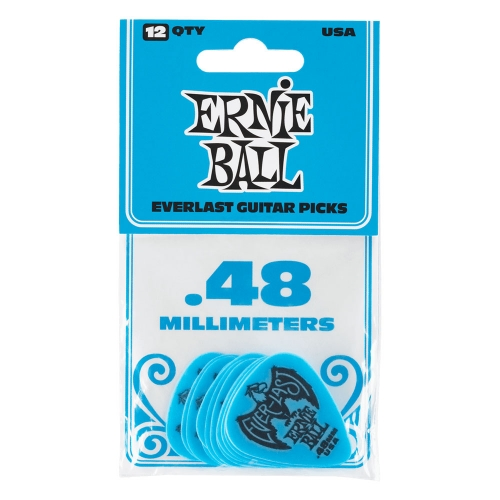 Ernie Ball 9181 Everlast Plectrum 0.48mm 12-Pack