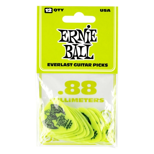 Ernie Ball 9191 Everlast Plectrum 0.88mm 12-Pack