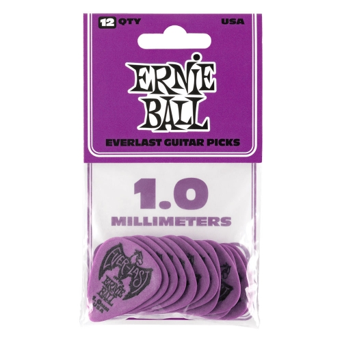 Ernie Ball 9193 Everlast Plectrum 1.0mm 12-Pack