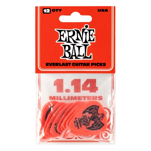 Ernie Ball 9194 Everlast Plectrum 1.14mm 12-Pack