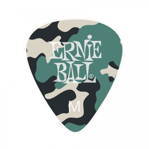 Ernie Ball Camouflage Plectrum Medium - Per Stuk