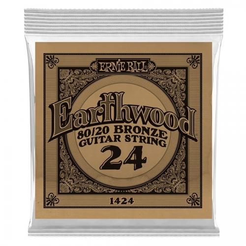 Ernie Ball EB1424 Earthwood Bronze Acoustic .024 Losse Snaar