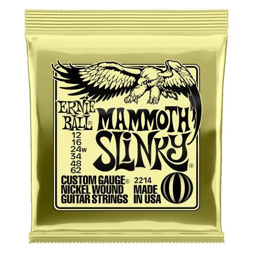 Ernie Ball Mammoth Slinky Gitaarsnaren