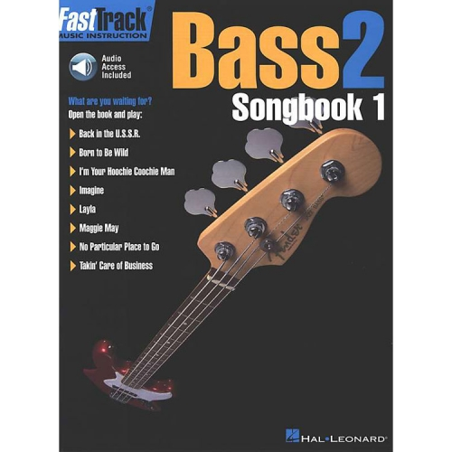 Fast Track Bass 2 - Songbook 1