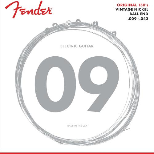 Fender 150L Snaren Original voor Elektrische Gitaar (9-42)