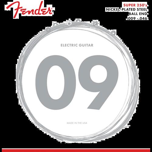 Fender 250LR Snaren voor Elektrische Gitaar (9-46)