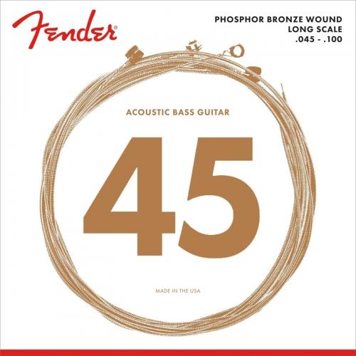Fender 8060 Snaren voor Akoestische Basgitaar (45-100)