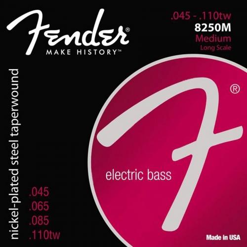 Fender 8250M Taperwound Snaren voor Elektrische Basgitaar (45-110)