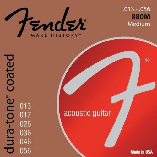 Fender 880M Duratone Coated Snaren voor Akoestische Gitaar (13-56)