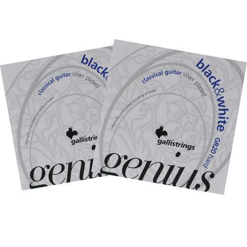 Galli GR20 Genius Klassieke Snaren - Hoge Spanning 2-Pack