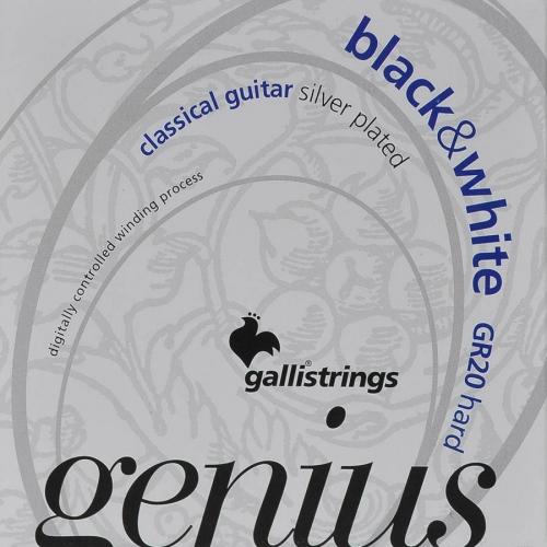 galli gr20 genius klassieke snaren black nylon