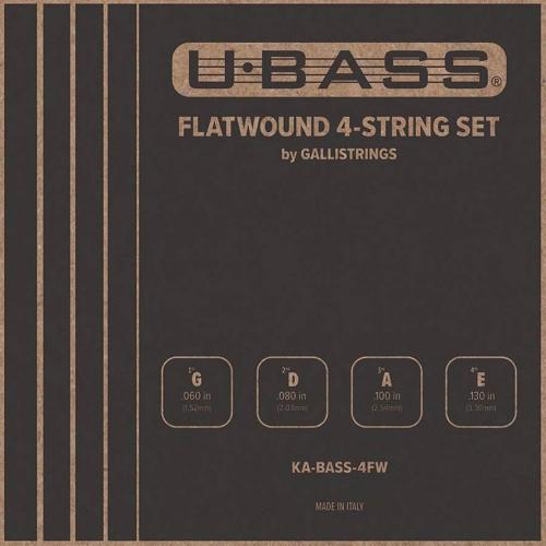Galli KA-BASS-4FW Flatwound Bas Ukulele Snaren (60-130)