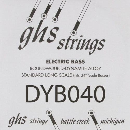 GHS Bass Boomers DYB040 .040 Losse Bassnaar