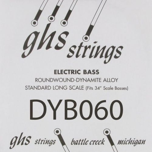 GHS Bass Boomers DYB060 .060 Losse Bassnaar