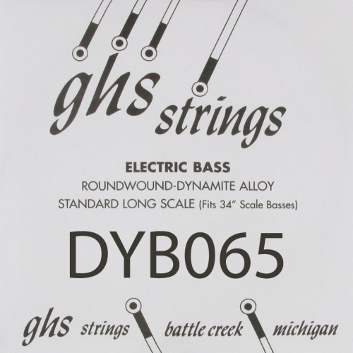 GHS Bass Boomers DYB065 .065 Losse Bassnaar