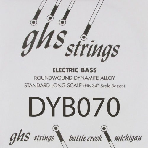 GHS Bass Boomers DYB070 .070 Losse Bassnaar