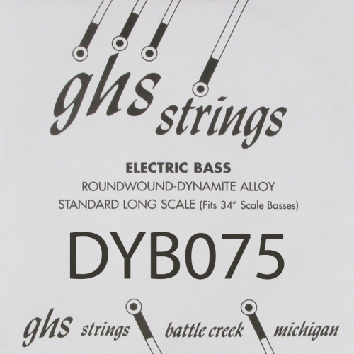 GHS Bass Boomers DYB075 .075 Losse Bassnaar
