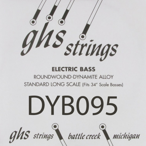 GHS Bass Boomers DYB095 .095 Losse Bassnaar