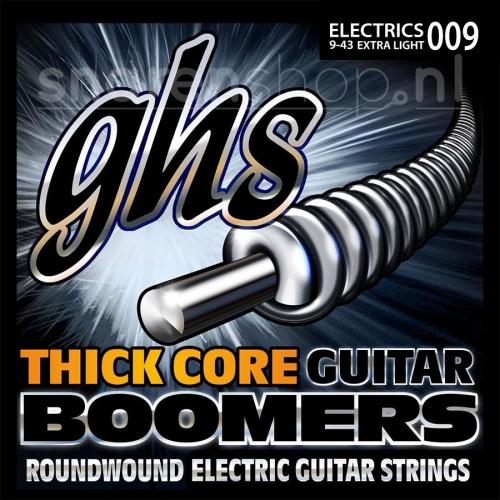 GHS HC-GBXL Thick Core Extra Light Elektrische Gitaarsnaren (9-43)