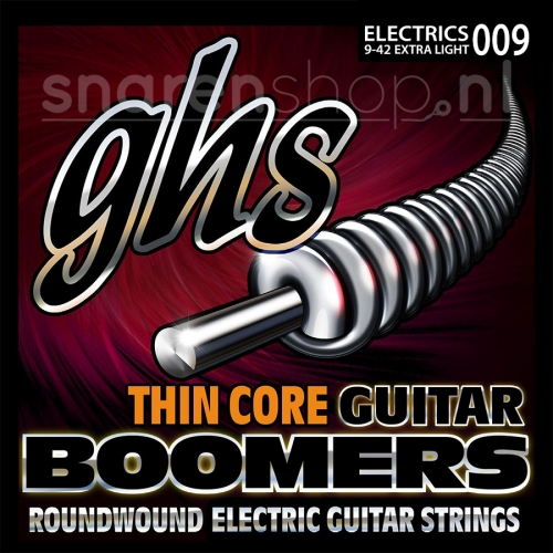 GHS TC-GBM Thin Core Extra Light Elektrische Gitaarsnaren (9-42)