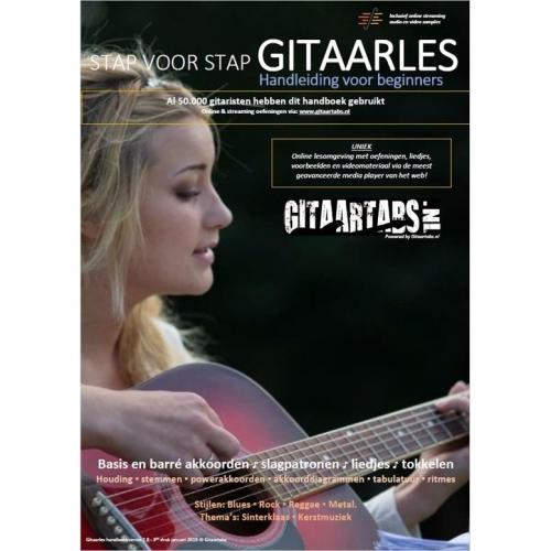 Gitaartabs Lesboek - Stap voor Stap Gitaarles