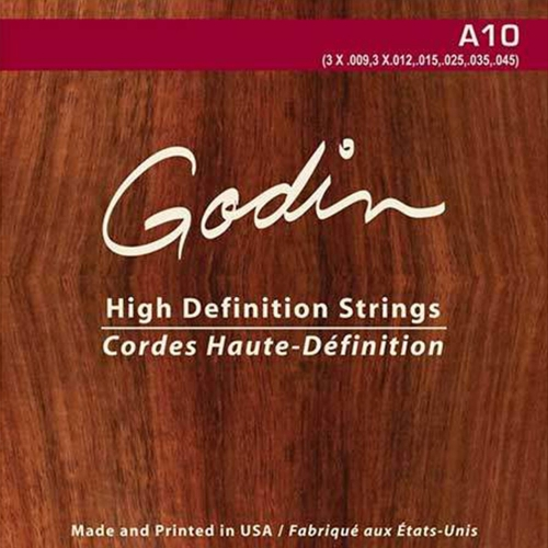 Godin A10 Gitaar Snaren High Definition 10-Snarig