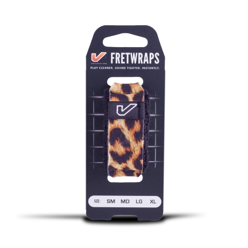 GruvGear FW-1PK-LEP-LG Fretwraps Panter / Leopard Large 1-Pack