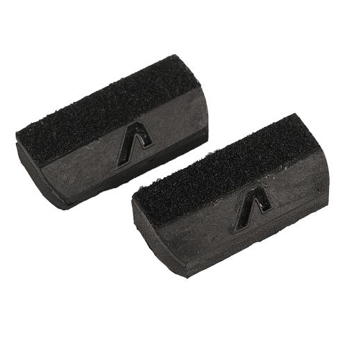 Gruvgear FWG2-BLK-SM Fretwedge Snaardemper Zwart Small 2-Pack