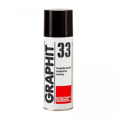 Kontakt Chemie GRP33-200 Graphit 33 Conductive Coating - 200ml