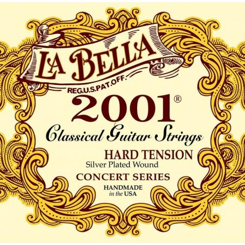 La Bella 2001H Snaren voor Klassieke Gitaar (Hoge Spanning)