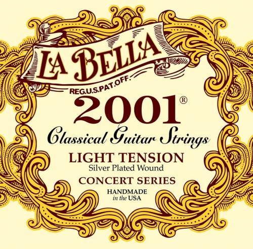 la bella 2001 light snaren voor klasieke gitaar