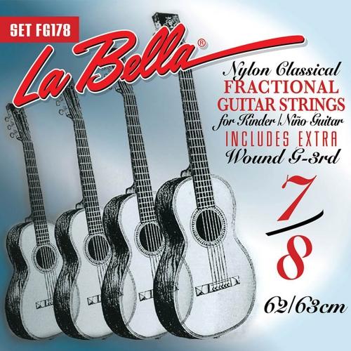 La Bella FG178 7/8 Mensuurlengte Klassieke Gitaarsnaren - Normale Spanning