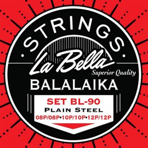 La Bella L-BL90 Snarenset voor Balalaika (8-12)