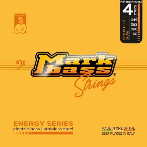 Markbass MB4ENSS45100LS Energy Series Bassnaren Long Scale (45-100)