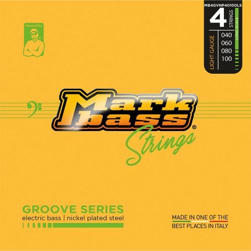 Markbass MB4GVNP40100LS Groove Series NPS Bassnaren Long Scale (40-100)