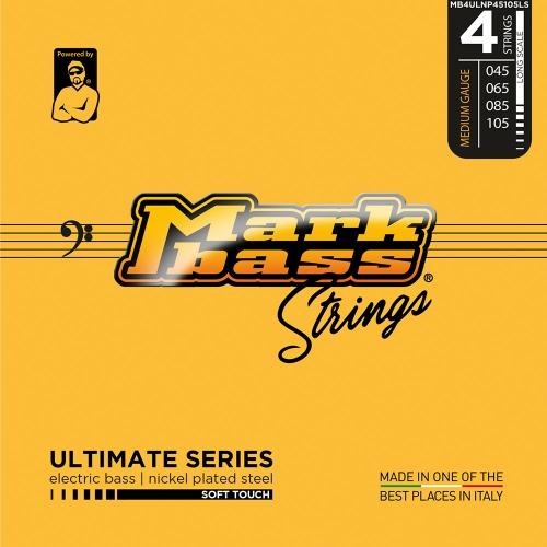 Markbass MB4ULNP45105LS Ultimate Series Soft Touch Bassnaren (45-105)