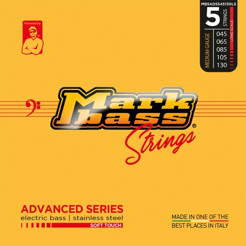 Markbass MB5ADSS45130LS Advanced Series Soft Touch Bassnaren 5-Snarig (45-130)