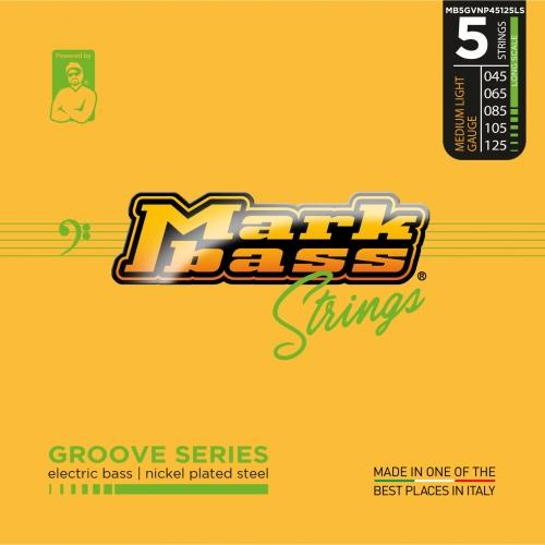 Markbass MB5GVNP45125LS Groove Series NPS Bassnaren 5-Snarig Long Scale (45-125)