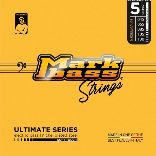 Markbass MB5ULNP45130LS Ultimate Series Soft Touch Bassnaren 5-Snarig (45-130)