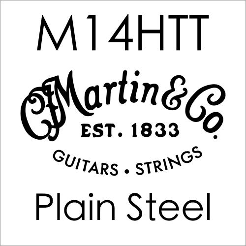 Martin M14HTT Plain Steel .014 Losse Snaar