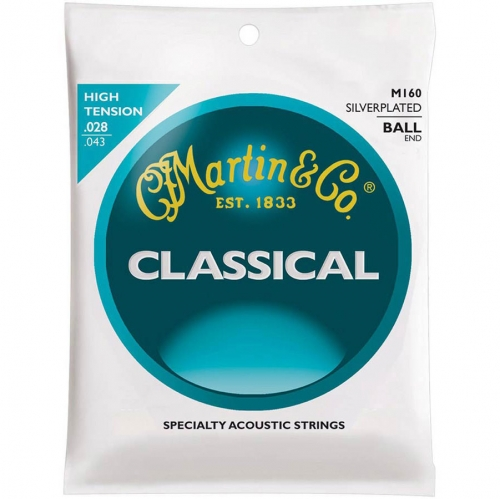 Martin M160 Klassieke Gitaarsnaren met Baleinde