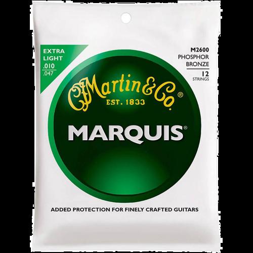 Martin M2600 Phosphor Bronze Snaren voor 12-Snarige Akoestische Gitaar