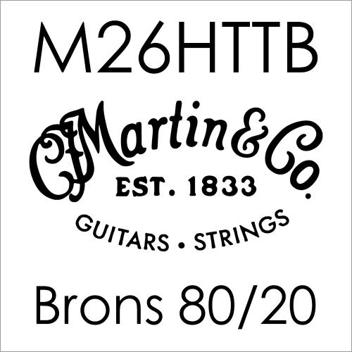 Martin M26HTTP 80/20 Bronze .026 Losse Snaar