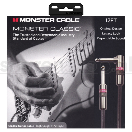 Monster Cable Classic RS12 Gitaarkabel 3.65 Meter