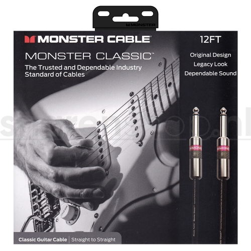Monster CabMonster Cable Classic SS12 Gitaarkabel 3.65 Meterle Classic RS12 Gitaarkabel 3.65 Meter