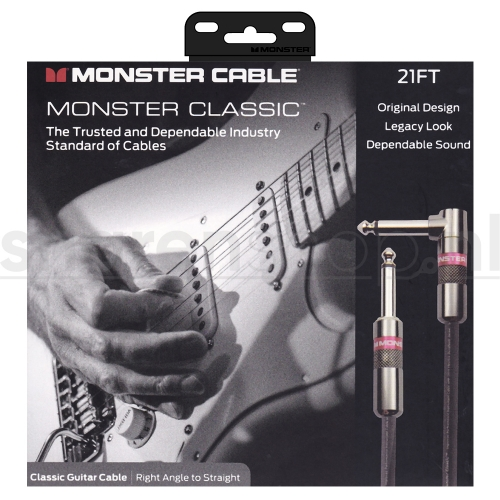 Monster Cable Classic RS21 Gitaarkabel 6.4 Meter