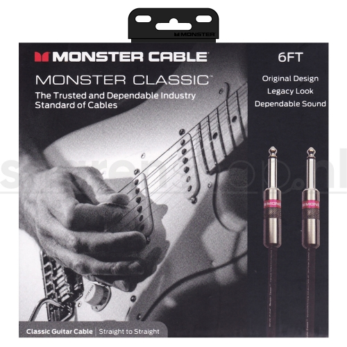 Monster Cable Classic SS6 Gitaarkabel 1.8 Meter
