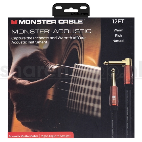 Monster Cable ACST2-12A Kabel El/AC Gitaar - 3.65 Meter