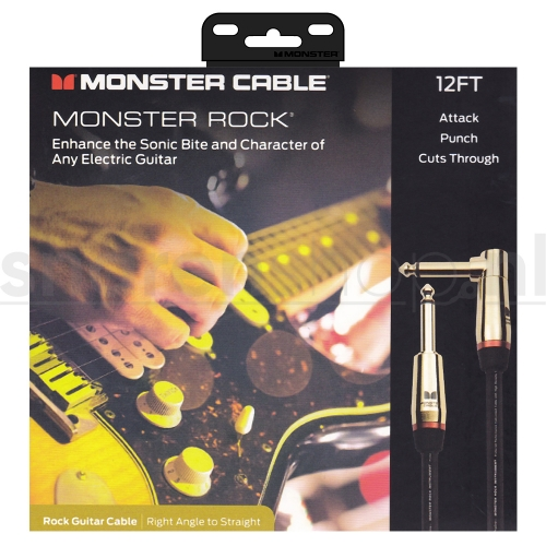Monster Cable Rock2-12A Gitaarkabel - 3.6 Meter