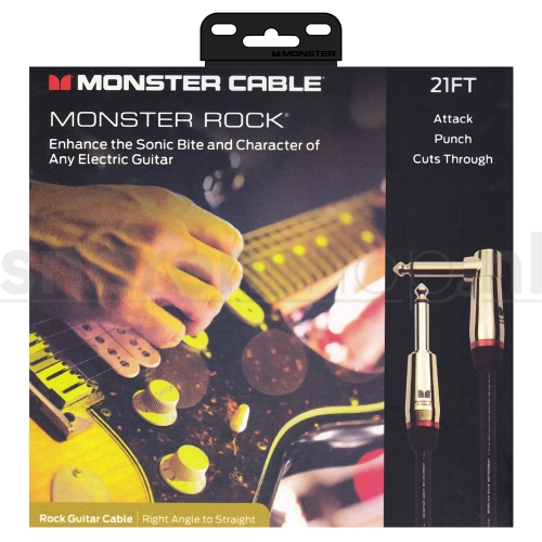 Monster Cable Rock2-21A Gitaarkabel - 6.4 Meter